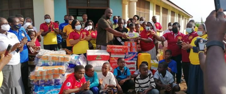 ACHHI-Ghana Supported Don Bosco Orphanage Home at Odomase